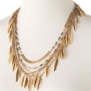 Stella & Dot Garland Fringe Necklace - 5 in 1